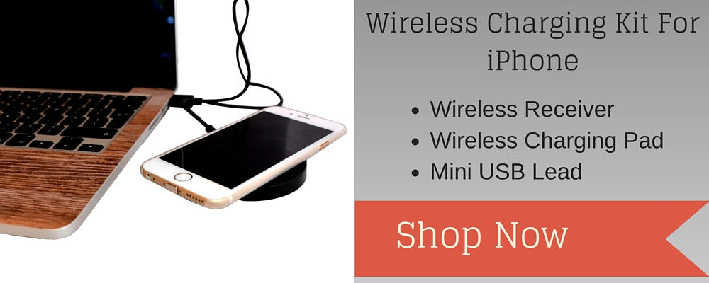 iPhone wireless charging kit