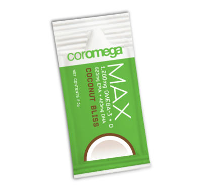 MAX Omega-3 Coconut Bliss bag | 60 ct