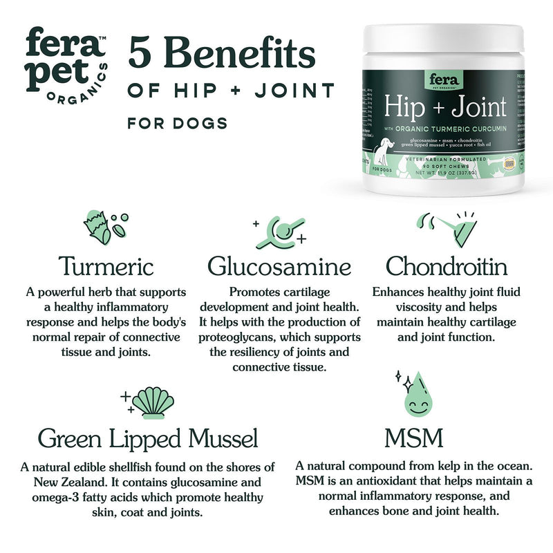 Hip + Joint Soft Chews for Dogs | 90ct