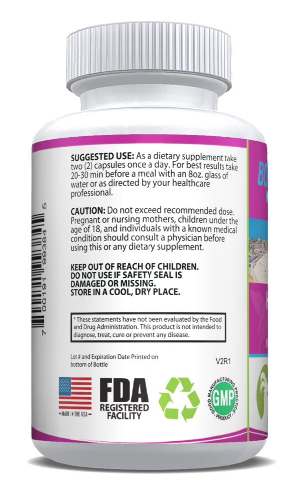 Horny Goat Weed Supplement | 60 Capsules