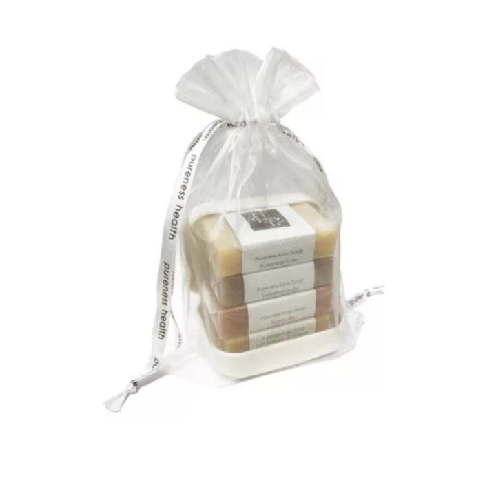 Gift set Travel Soap Set with Case | 1oz bars