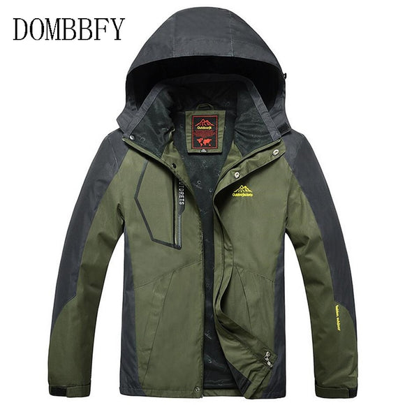 Men's Jackets Spring Autumn Casual Men Outwear Raincoat Waterproof Hooded Coats Male Breathable Bomber Jackets Plus Size 8XL 9XL