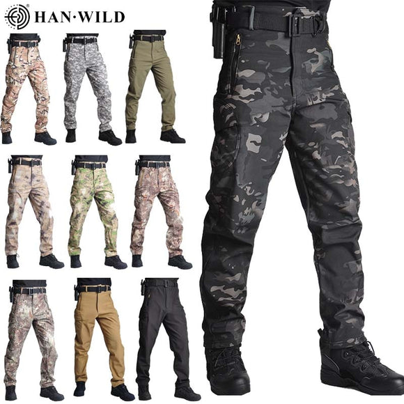 Tactical Pants Camouflage Military Pants Casual Combat Cargo Pants Water Repellent Ripstop Men's 5XL Trousers  Spring Autumn