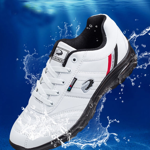 New Cushion Golf Shoes for Man Waterproof eather Sport Shoes Athletics Golf Shoes Comfort Grand Walking Sneakers Men's Golf Shoe