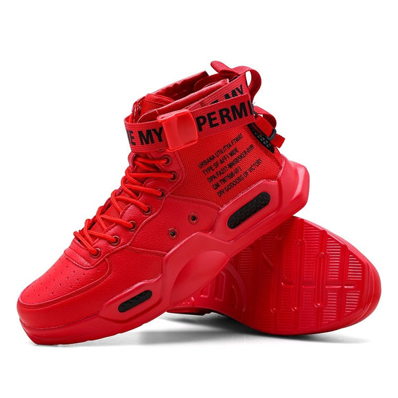 Platform High Top Red Bottom Trend Sneakers For Men Hip Hop Casual Men's Shoes Tennis Male Adult Autumn 2021 Sports Shoes