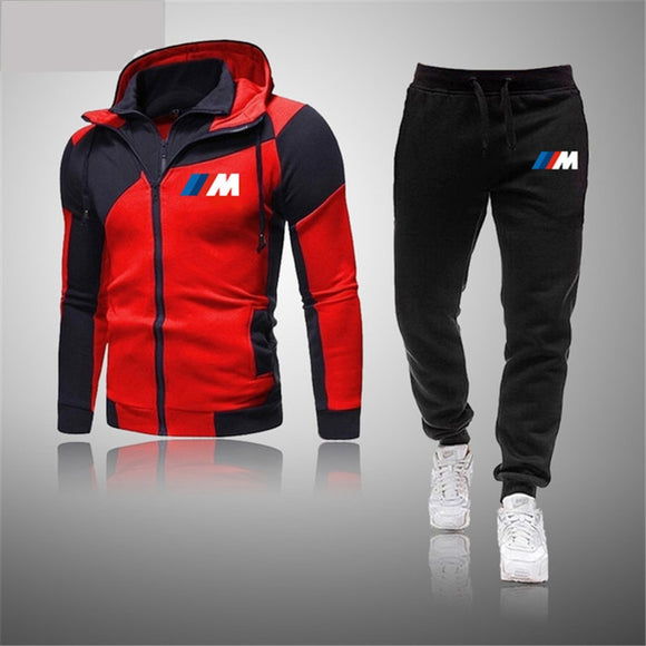 High Quality Men's Sets Brand Sportswear Tracksuits 2 Piece Sets Men's Clothes Hoodies+Pants Sets Male Streetswear Coat Jackets