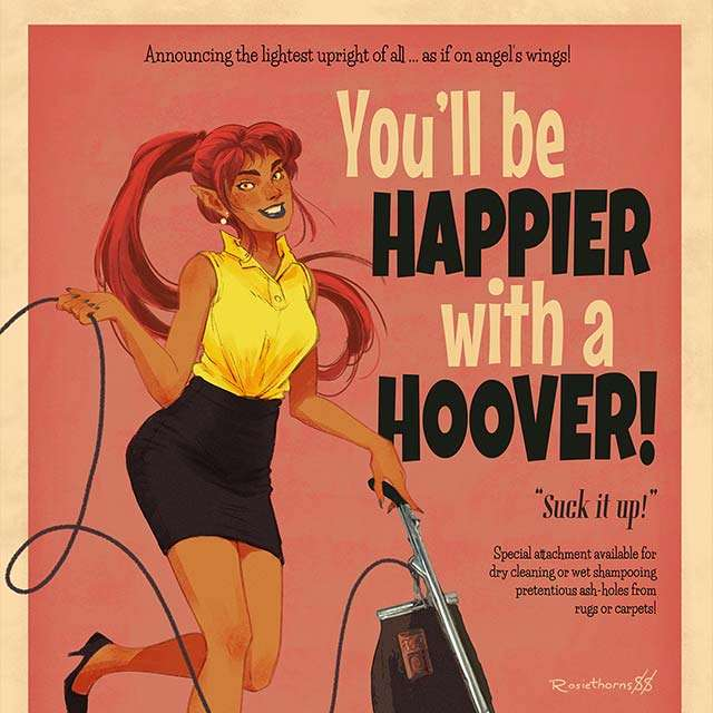 You'll Be Happier - Ad Parody Print
