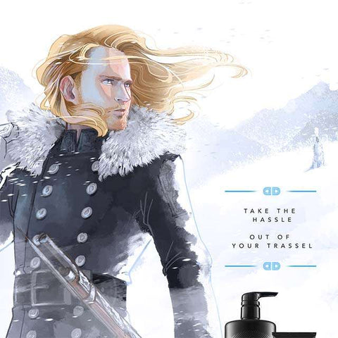 Fresh Snow and Honor - Ad Parody Print