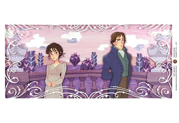 Most Ardently - Pride and Prejudice Papercraft Print