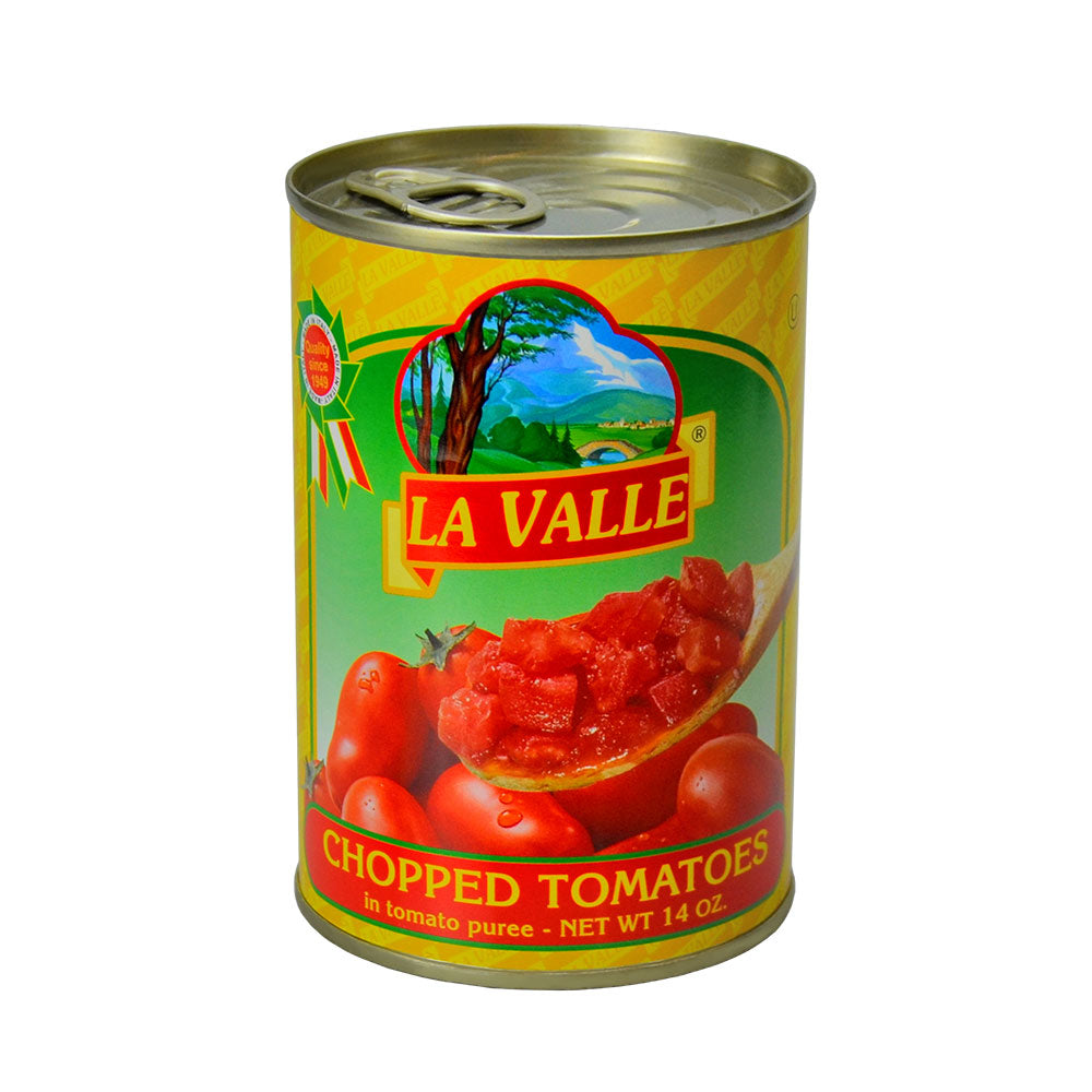 Diced / Chopped Tomatoes La Valle 24 x 400g Can