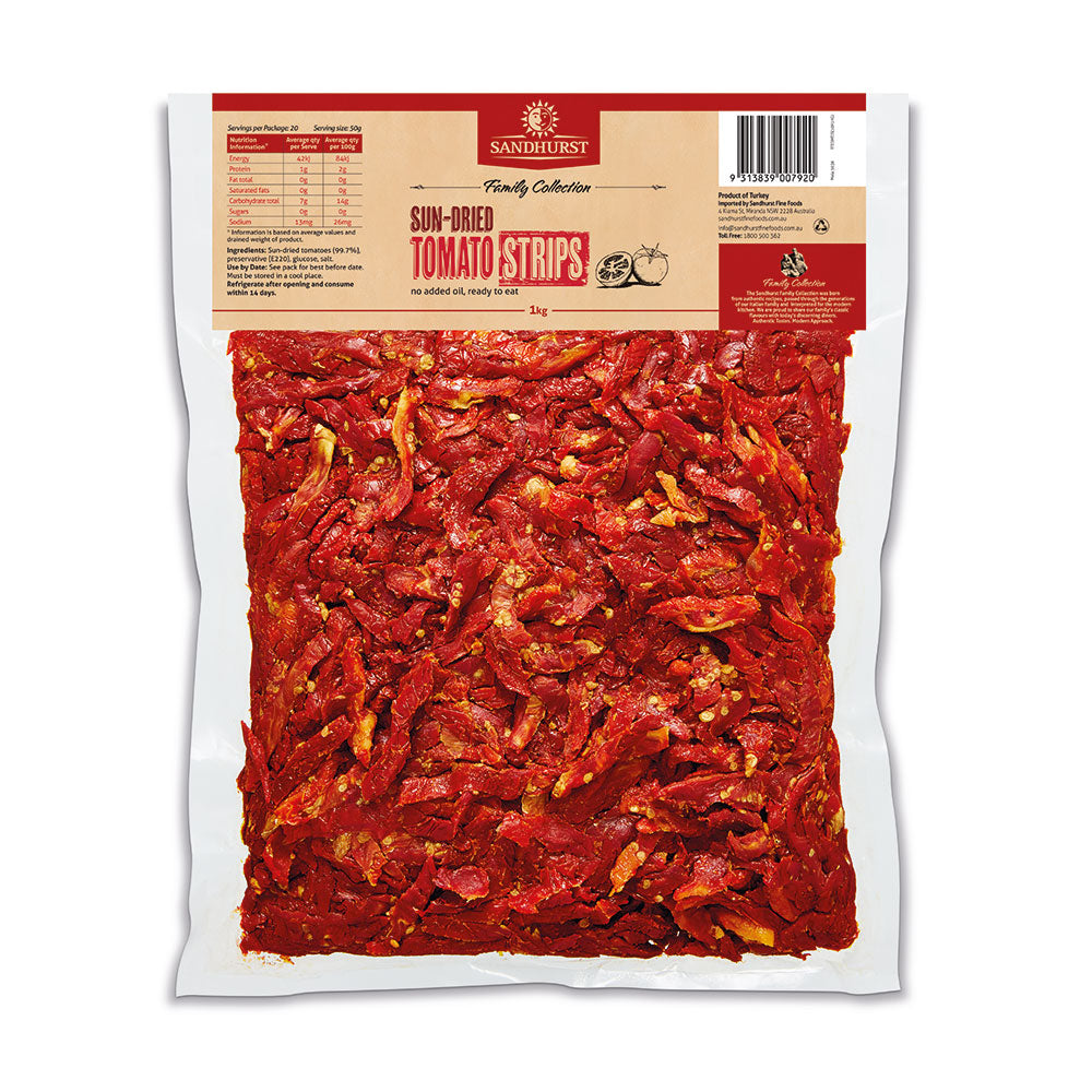 Tomato Sun-dried Ready to Eat Sandhurst 1kg