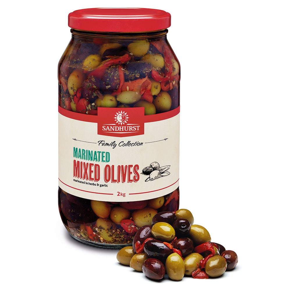 Marinated Mixed Olives Sandhurst 2kg