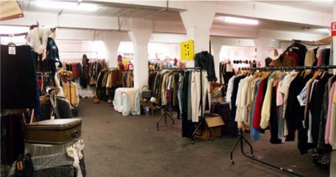 Brick Lane Vintage Clothing Market
