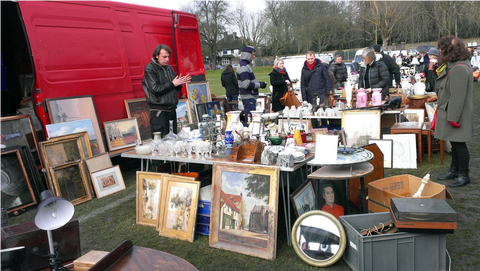 Chiswick Car Boot Fair - Vintage