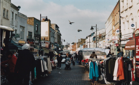 Deptford market for vintage clothing