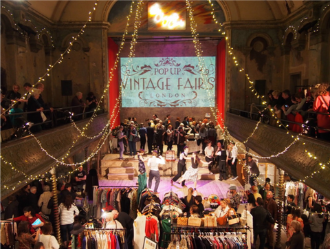 Pop Up Vintage Fair - Vintage Clothing