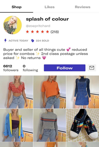 aceac5ff How to make money on Depop - top tips for success!