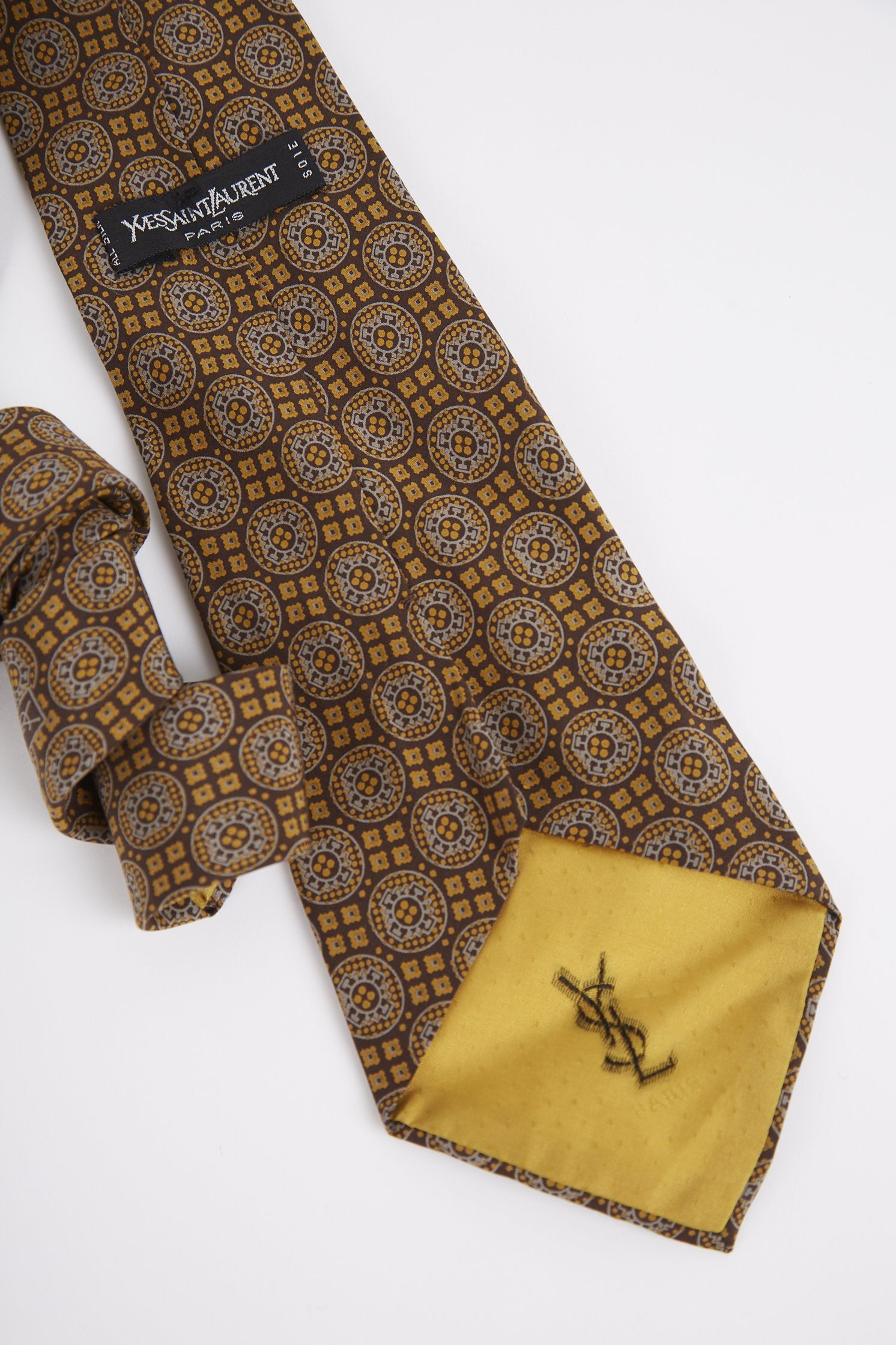 Vintage Yves Saint Laurent Tie - Thrifted.com
