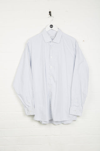 Vintage Calvin Klein Shirt - XL White Cotton - Thrifted.com
