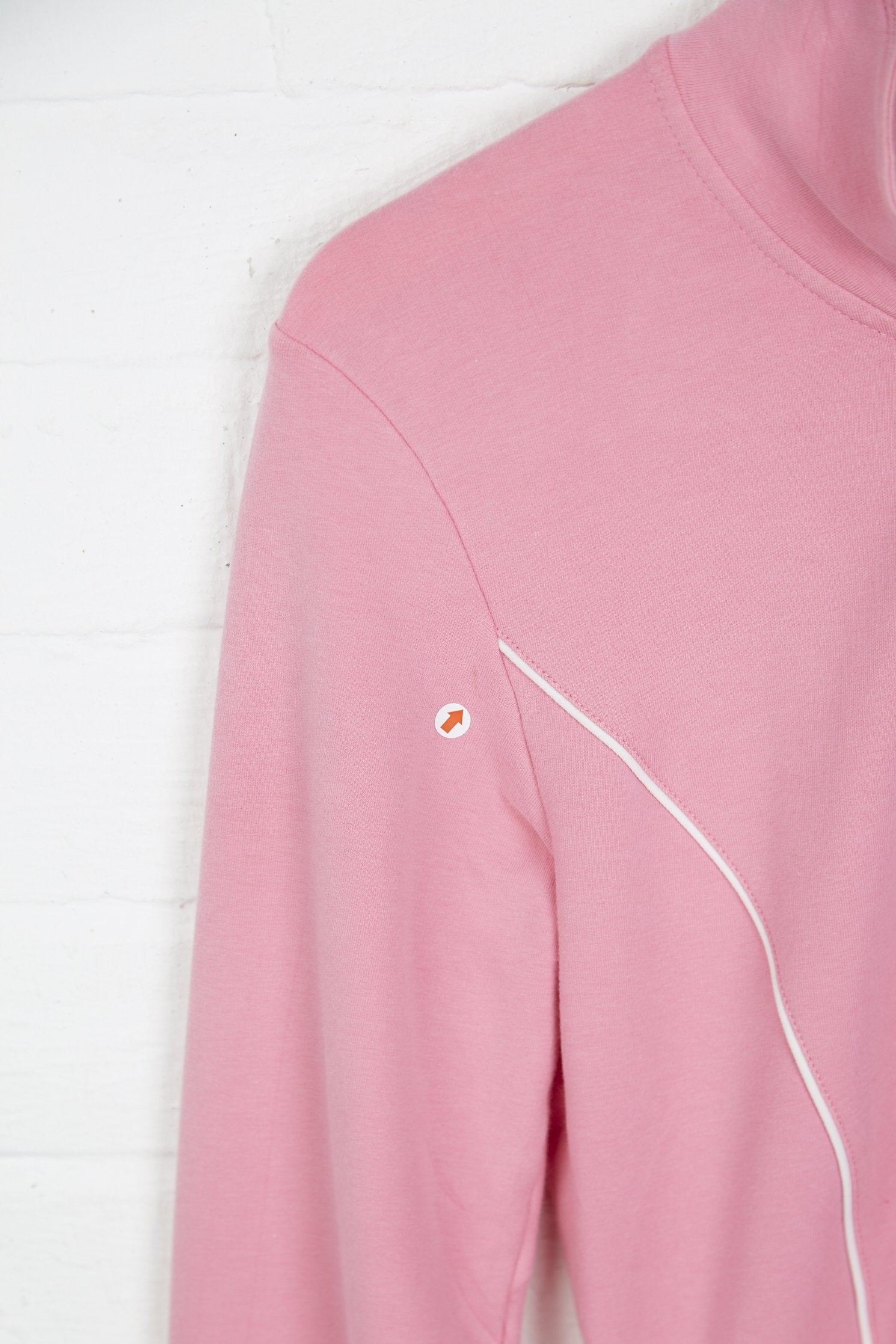 Vintage Nike Track Jacket - XS Pink Cotton - Thrifted.com