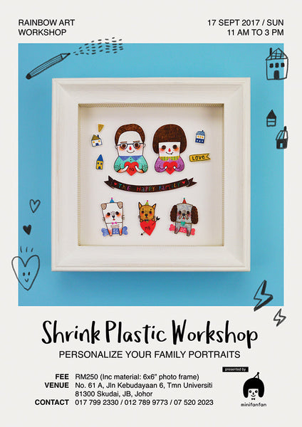 Shrink Plastic Workshop: Personalize Your Family Portraits