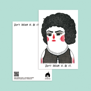 Don't Dream It. Be It - Dr. Frank-N-Furter Postcard - Minifanfan