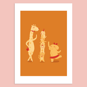 We're Small But United Giclée Print
