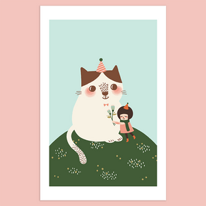 You Keep Me Warm Giclée Print - Minifanfan