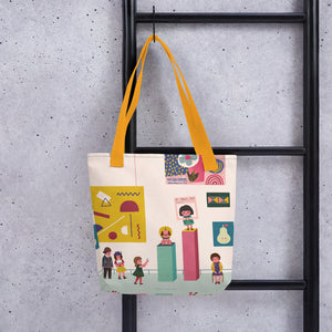 Creativity 2 All-Over Print Tote