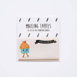Have A Sweet Day (Cupcake Version) Mailing Labels