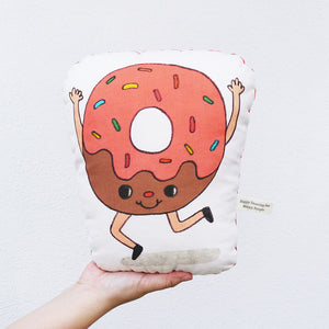 Have A Sweet Day (Donut) Stuffed Pillow