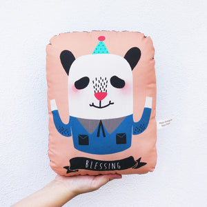 Blessing Panda Stuffed Pillow