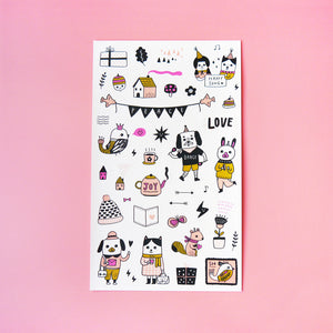 Happy Planner Sticker Sheet - Minifanfan