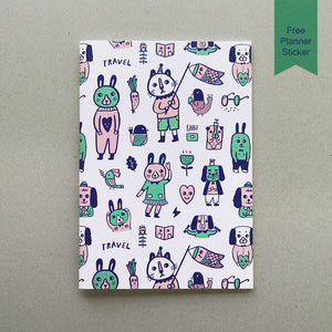 Animal Doodles 2 Notebook