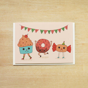 Have A Sweet Day Birthday Greeting Card