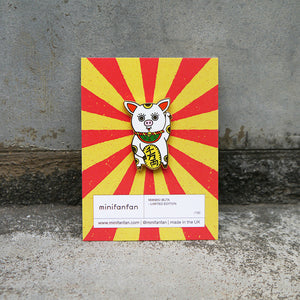 Maneki Buta Enamel Pin / Limited Edition
