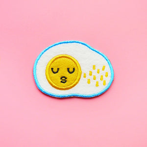 Sunny Side Up Egg Sticker Patch or Pin