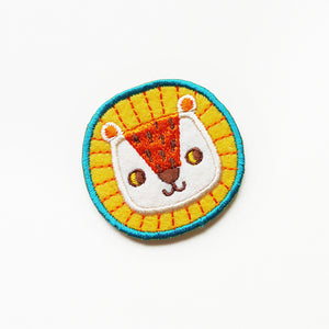 Little Lion Sticker Patch or Pin