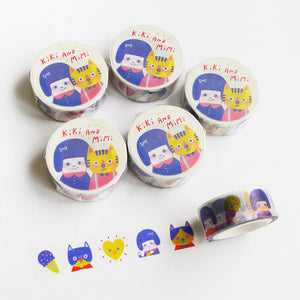 Kiki And Mimi Washi Tape / Limited Edition
