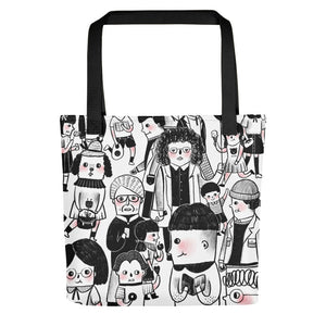 People All-Over Print Tote