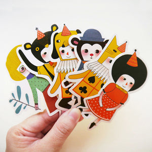Collection 4 Sticker Set