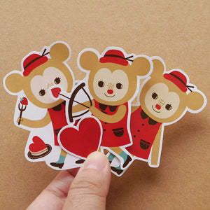 Love Parade Sticker Set