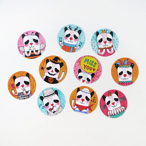 Oh! Panda Sticker Set