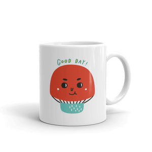 Good Day! Red Mushroom Coffee Mug