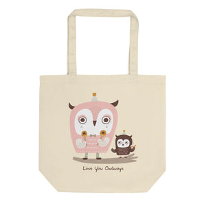 Love You Owlways Eco Tote Bag