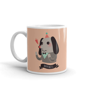 Happiness Dog Coffee Mug