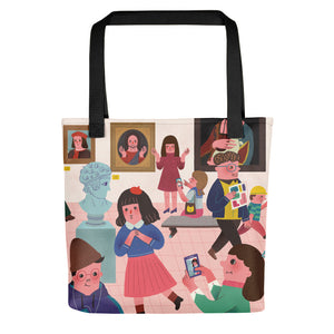 Creativity All-Over Print Tote
