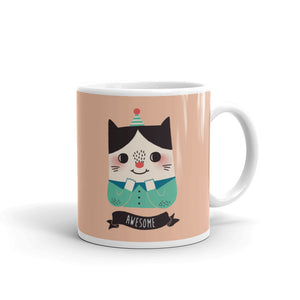 Awesome Cat Coffee Mug