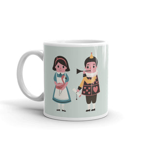 London - Inspired By Alice In Wonderland Coffee Mug