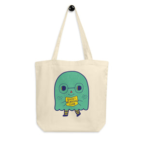 Ghost Reading Club Eco Tote Bag